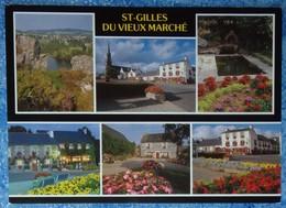 22 Côtes D'Armor CPM St Saint Gilles Du Vieux Marché  Multivues - Saint-Gilles-Vieux-Marché