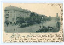 XX004270/ Schweiz Gruß Aus Basel Straßenbahn 1898 AK - Ohne Zuordnung