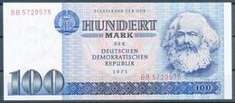 DDR - Staatsbank Der DDR , 5 Banknoten  5 -100 MARK - Ungebraucht - [ 6] 1949-1990: DDR - Duitse Dem. Rep.