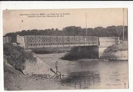 CPA France 14 - Courseulles Sur Mer - Le Pont Sur La Seuilles  :   Achat Immédiat - Courseulles-sur-Mer