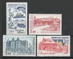 FRANCE 1982 YT N° 2193 à 2196 ** - Unused Stamps
