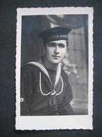 CPA FOTO REGIA MARINA MARINAIO MILITAIRE MILITARE ? - Guerra 1939-45