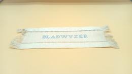 Unieke Gestikte Bladwijzer (afkomstig Uit Bijbel Uit 1902) - Bladwijzers