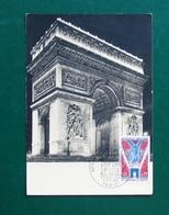 France Maximum Cards 1968 Triumph Arc - 1960-69
