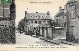 Tourlaville - Le Becquet - Les Goelands -circulé -pli Sens Vertical Voir Scan - Andere Gemeenten