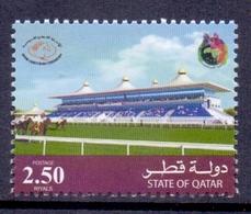 2007 QATAR Arab Equestrian Federation 1 Value MNH - Qatar