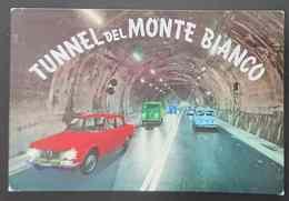 TUNNEL DEL MONTE BIANCO - Automobili Alfa Romeo Giulia - Vg - Italia