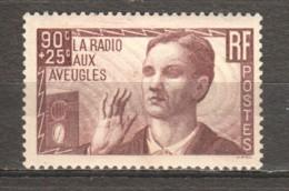 France 1938 Mi 436 MH - Unused Stamps