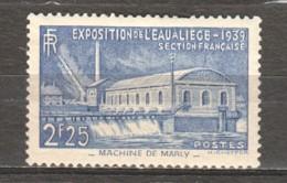France 1939 Mi 449 MLH - Neufs