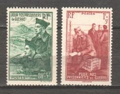 France 1941 Mi 500-501 MNH - Ungebraucht