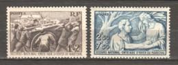 France 1941 Mi 509-510 MNH - Ungebraucht