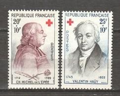 France 1959 Mi 1270-1271 MNH RED CROSS - Frankreich