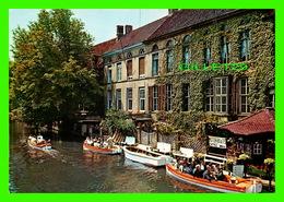 BRUGES, BELGIQUE - LE DYVER - KRUGER - ANIMÉE DE BATEAUX - - Brugge