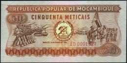 MOZAMBIQUE - 50 Meticais 16.06.1980 {#AD0001527} AU-UNC P.125 - Mozambique