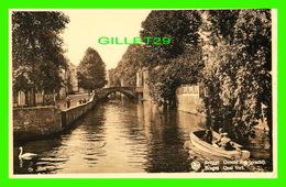 BRUGES, BELGIQUE - QUAI VERT ANIMÉE - ERN THILL - GROENE REI GRACHT - - Brugge