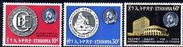 ETP121 - ETIOPIA 1965 ,  Yvert  N 458/460    ***  BANCA - Etiopia