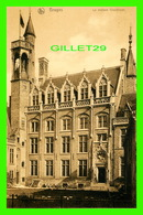 BRUGES, BELGIQUE - LA MAISON GRUUTHUSE - ÉCRITE - NELS - - Brugge
