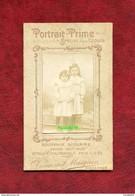 Souvenir Scolaire 1907-1908 - Photographie Petites Filles - 6.5 X 10.5 Cm - Persone Anonimi
