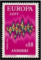 TIMBRE ANDORRE.FR - 1972 - NR 217 - NEUF - Nuevos