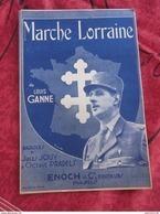 LIVRET MARCHE LORRAINE GENERAL DE GAULLE CROIX DE LORRAINE - Altri