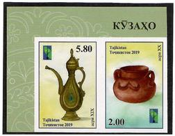Tajikistan.2019 Jugs(PCC).Imperf. 2v:2.00,5.80 - Tajikistan