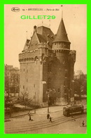 BRUXELLES, BELGIQUE - PORTE DE HAI - ANIMÉE DE TRAMWAY - MARCO MARCOVICI - - Places, Squares