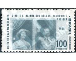 Ref. 170504 * MNH * - BRAZIL. 1965. VISITA DEL REI BALDUINO I DE LA REINA FABIOLA DE BELGICA - Brazil