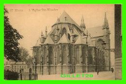 MONS, BELGIQUE - L'ÉGLISE STE-WAUDRU - EDITION, DUWEZ-DELCOURT - - Mons