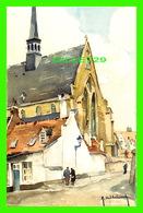 LEUVEN, BELGIQUE - LOUVAIN, EGLISE DU BÉGUINAGE - EDITION STEHLI - PEINTURE DE A. HEBBELINSKY - - Leuven