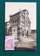 Monaco Maximum Card  1950 Cathedral - Maximumkarten (MC)