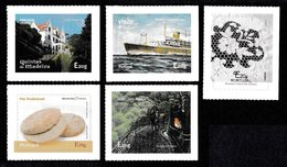 PORTUGAL (MADEIRA) 2015 Self-Adhesive Stamps: Set Of 5 Stamps UM/MNH - Madère