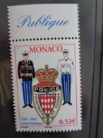 MONACO 2002 Y&T N° 2345 ** - CENTENAIRE DE LA SURETE PUBLIQUE - Neufs