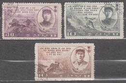 Korea North 1965 Mi# 601-603 Heroes Used - Korea, North