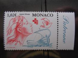 MONACO 2002 Y&T N° 2354 ** - CROIX ROUGE MONEGASQUE - Monaco