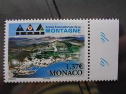 MONACO 2002 Y&T N° 2355 ** - ANNEE INTERN. DE LA MONTAGNE - Monaco