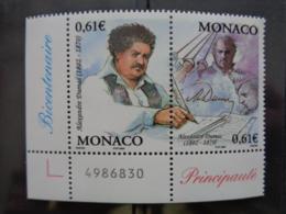 MONACO 2002 Y&T N° 2363 & 2364 ** - NAISSANCE ECRIVAIN ALEXANDRE DUMAS - Monaco