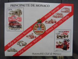 MONACO  2002 B.F. Y&T N° 86 ** - RALLYE DE MONTE CARLO 3e GRAND PRIX....... - Neufs