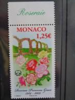 MONACO  2009 Y&T N° 2662 ** - ROSERAIE PRINCESSE GRACE - Monaco