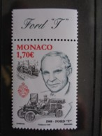MONACO  2008 Y&T N° 2621 ** - 1908 FORD 'T' - Monaco