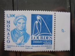 MONACO  2008 Y&T N° 2618 ** - LOURDES - Monaco