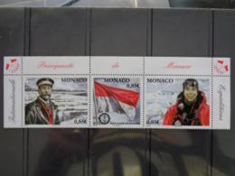 MONACO  2008 Y&T N° 2652 à 2654 ** - ANNEE POLAIRE INTERNATIONALE - Monaco