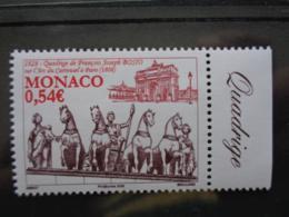 MONACO  2008 Y&T N° 2614 ** - 1828 QUADRIGE DE FRANCOIS JOSEPH BOSIO - Monaco