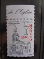 MONACO  2008 Y&T N° 2609 ** - EGLISE SAINT CHARLES - Monaco