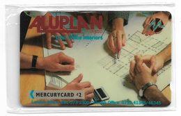 UK (Mercury) - Aluplan Ltd - 20MERC (Plain Black, No Stripe) - MER121B - 4.363ex, NSB - Reino Unido