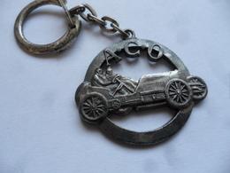 (Porte-clés Publicitaire - Automobile, Association) - A.C.O.  (Automobile Club De L'Ouest) - Ancien Tacot à Identifier.. - Sleutelhangers