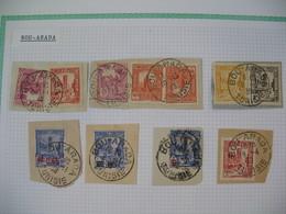 Tunisie Oblitéré, Lot De Timbres, Oblitération choisies De  Bou-Arada   Voir Scan - Tunisia (1888-1955)