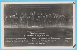 J.M. 28 - Carte Photo - 01 - Orchestre Camp De Prisonniers Allemands De St Clément à Malte - Malte