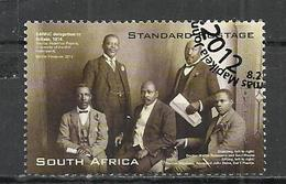 SOUTH AFRICA 2012 - 100th ANNIVERSARY OF THE NATIONAL INDIGENOUS SANNC CONGRESCO - USED OBLITERE GESTEMPELT USADO - Afrique Du Sud (1961-...)