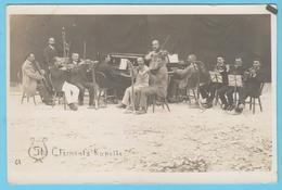 J.M. 28 - Carte Photo - 02 - Orchestre Camp De Prisonniers Allemands De St Clément à Malte - Malta
