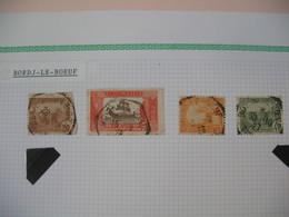 Tunisie Oblitéré, Lot De Timbres, Oblitération choisies De  Bordj-Le-Boeuf Voir Scan - Oblitérés